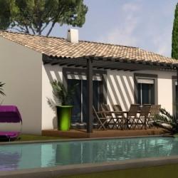 Maison  4 pièces + Terrain  660 m² Saint-Christol-Lès-Alès
