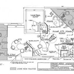 Vente Bureau Metz 92 m²