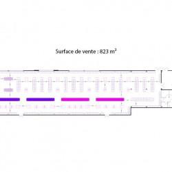 Cession de bail Local commercial Lagny-sur-Marne 820 m²