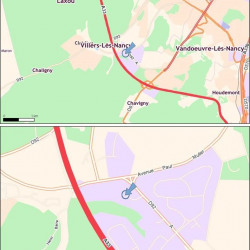 Location Bureau Vandœuvre-lès-Nancy 269 m²