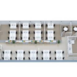 Location Bureau Paris 17ème 5 m²