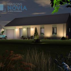 Maison  5 pièces + Terrain  485 m² Flavin