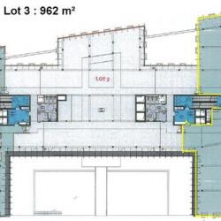 Location Bureau Villeurbanne 950 m²