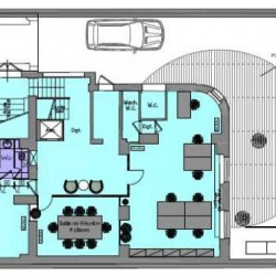 Location Bureau Paris 16ème 1487 m²