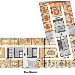 Location Bureau Villeurbanne 7546 m²