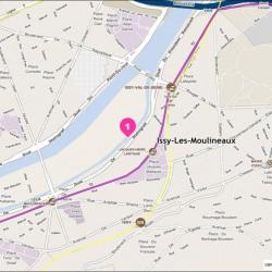Location Bureau Issy-les-Moulineaux 1482 m²