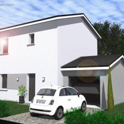 Maison  5 pièces + Terrain  532 m² St Simeon de Bressieux