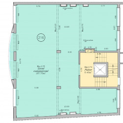 Vente Bureau Paris 16ème 168 m²