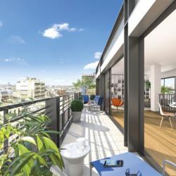 photo immobilier neuf Paris 17ème