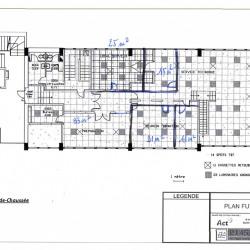 Location Bureau Gennevilliers 610 m²