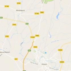 Terrain  de 535 m²  Mondrepuis  (02500)