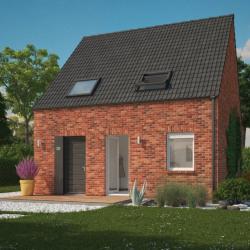 Maison  4 pièces + Terrain  540 m² Godewaersvelde