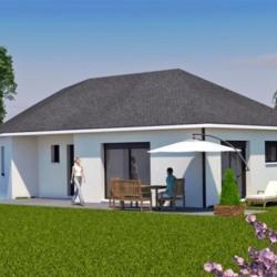 Maison  2 pièces + Terrain  968 m² Esclanèdes