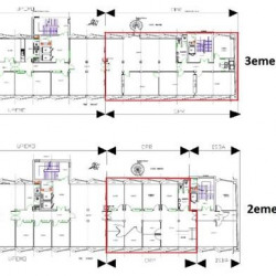 Location Bureau Lyon 7ème 150 m²