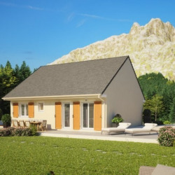 Maison  3 pièces + Terrain  191 m² Bouaye