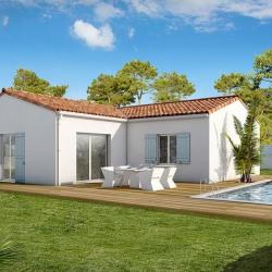 Maison  5 pièces + Terrain  600 m² Thézac