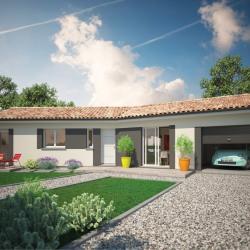 Maison  3 pièces + Terrain  1730 m² Montpon-Ménestérol