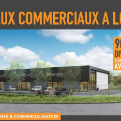 Location Local commercial Sainte-Marie-des-Champs 900 m²