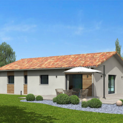 Maison  5 pièces + Terrain  554 m² Boeil Bezing