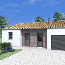 Maison  3 pièces + Terrain  599 m² Villedieu-la-Blouère