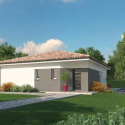Maison  4 pièces + Terrain  1050 m² Cadillac