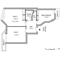 Location Local d'activités Annecy 55,45 m²