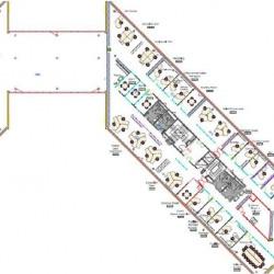 Location Bureau Saint-Aubin 1011 m²
