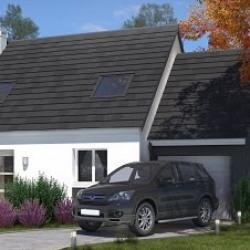 Maison  5 pièces + Terrain  780 m² Les Rues-des-Vignes