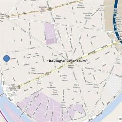 Location Bureau Boulogne-Billancourt 6889 m²