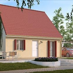Maison  3 pièces + Terrain  1100 m² Lignerolles