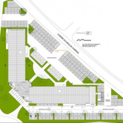 Location Bureau Écully 957 m²