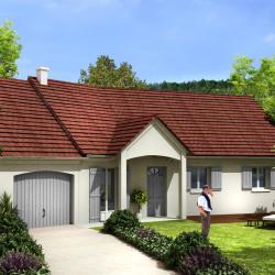 Maison  5 pièces + Terrain  300 m² Égly
