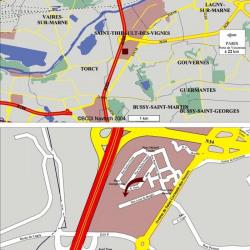 Location Local d'activités Saint-Thibault-des-Vignes 7046 m²