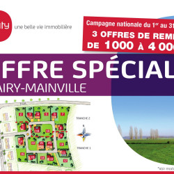 Terrain  de 404 m²  Mairy-Mainville  (54150)