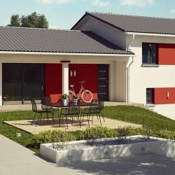 Maison  4 pièces + Terrain  750 m² Aze