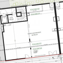 Vente Local commercial Angers 147 m²