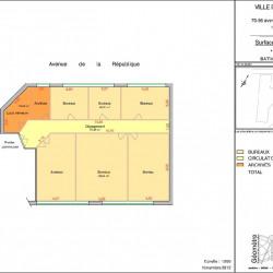 Location Local d'activités Châtillon 3445 m²