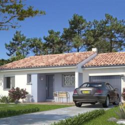 Maison  4 pièces + Terrain  1700 m² Montazeau