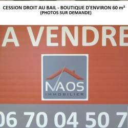 Cession de bail Local commercial Montbard 61 m²