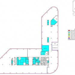 Location Bureau Courbevoie 6626 m²