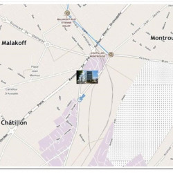 Location Bureau Châtillon 16423 m²