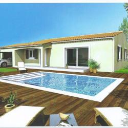Maison  4 pièces + Terrain   m² Laudun