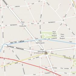 Location Bureau Paris 8ème 1084 m²