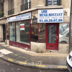 Location Local commercial Paris 20ème 57 m²