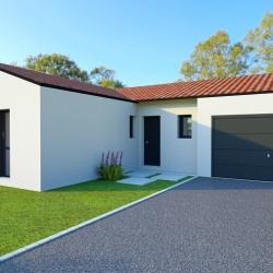 Maison  5 pièces + Terrain  700 m² Les Châtelliers-Châteaumur