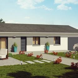 Maison  4 pièces + Terrain  725 m² Vandeins