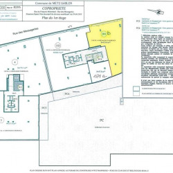 Location Bureau Metz 126 m²