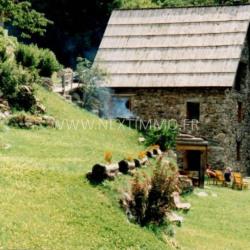 Grange 130 m² terrain 4500 m² au boreon st marti