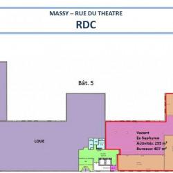 Location Bureau Massy 3153 m²