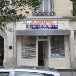 Location Local commercial Paris 15ème 42 m²